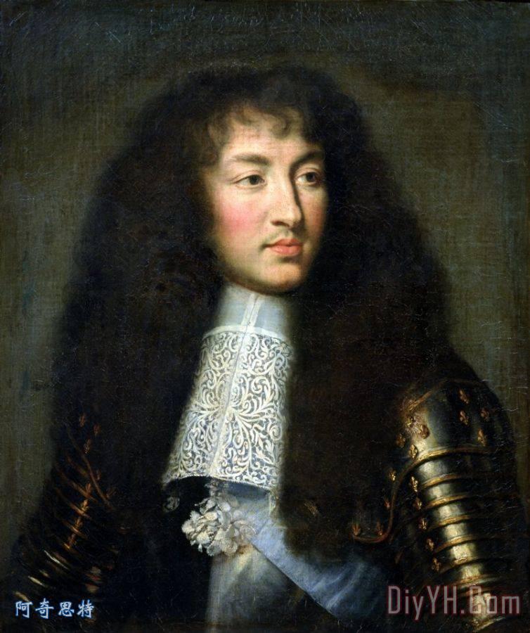 路易十四肖像画图片步骤_路易十四肖像画货架大全安装的图片图片