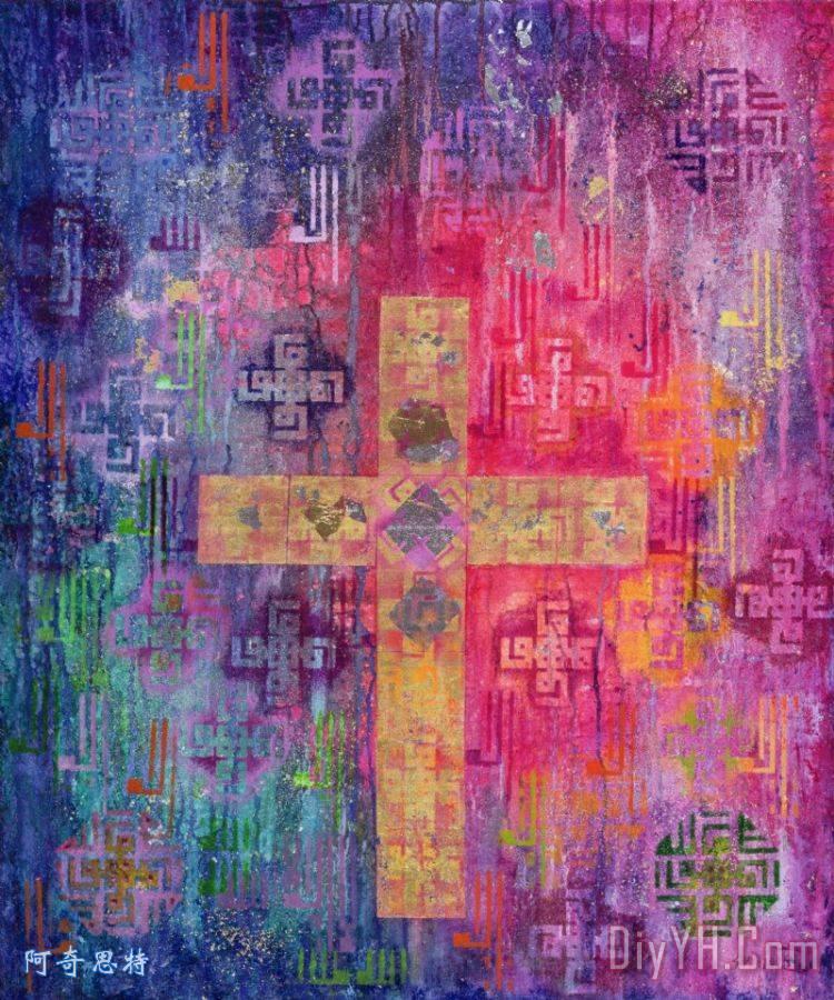 东横装饰画 耶稣 基督 垂死的 耶稣钉在十字架上的苦像 图片大全 阿奇图片