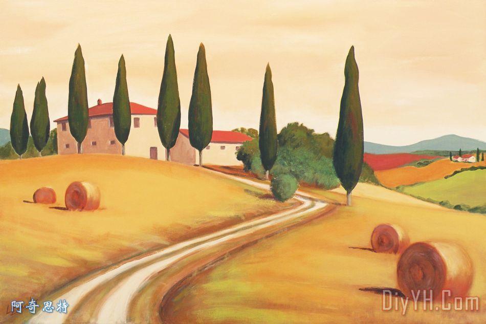 农村意大利风景我 农村意大利风景我装饰画