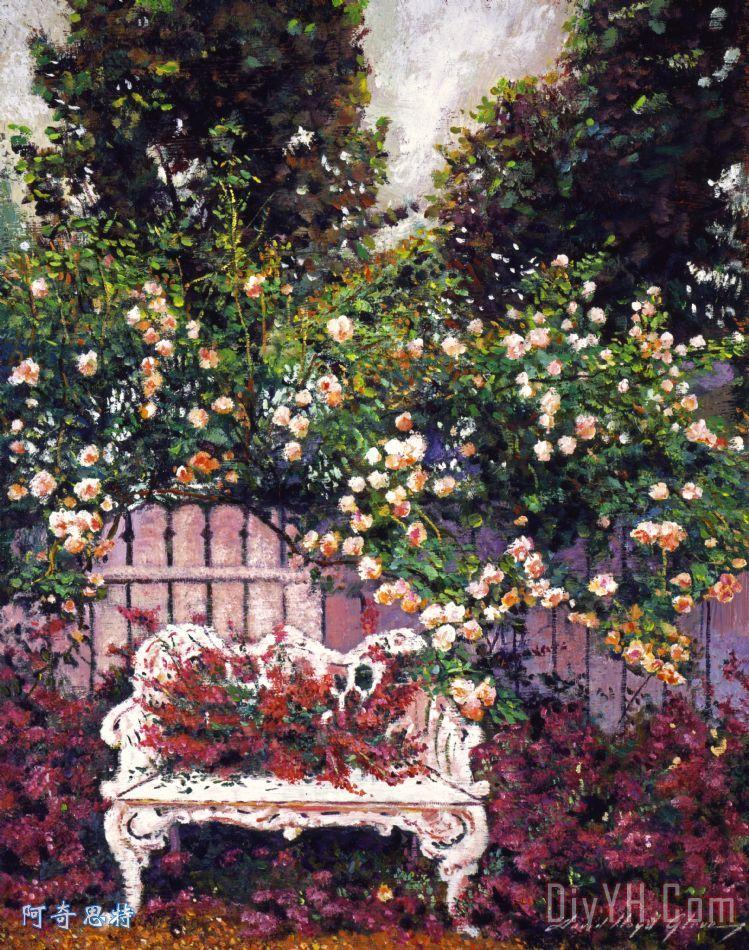 康之园 风景 铅笔画 玫瑰花 > 玫瑰花简笔画:玫瑰园里发生的故事